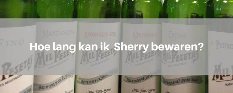sherry-bewaren