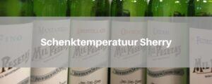 sherry-temperatuur