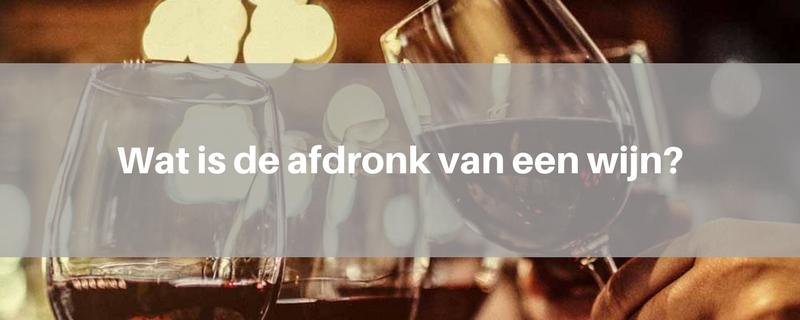 afdronk-wijn
